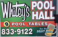 Whitey's Pool Hall