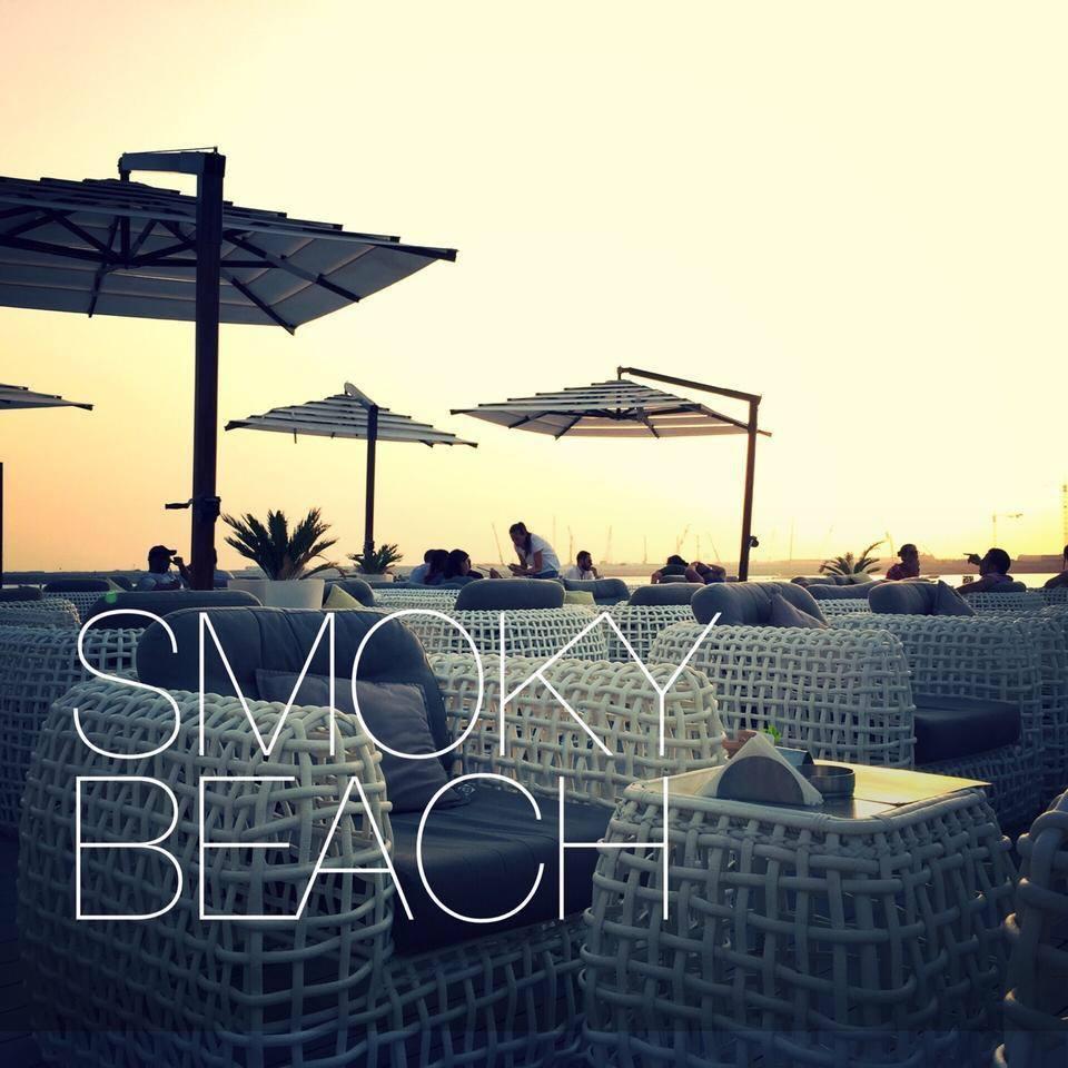 Best Places In Dubai For Shisha: Smoky Beach In JBR, Dubai, UAE