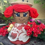 Flower Pot Dolls