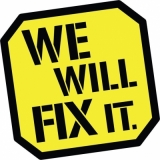 We Will Fix It