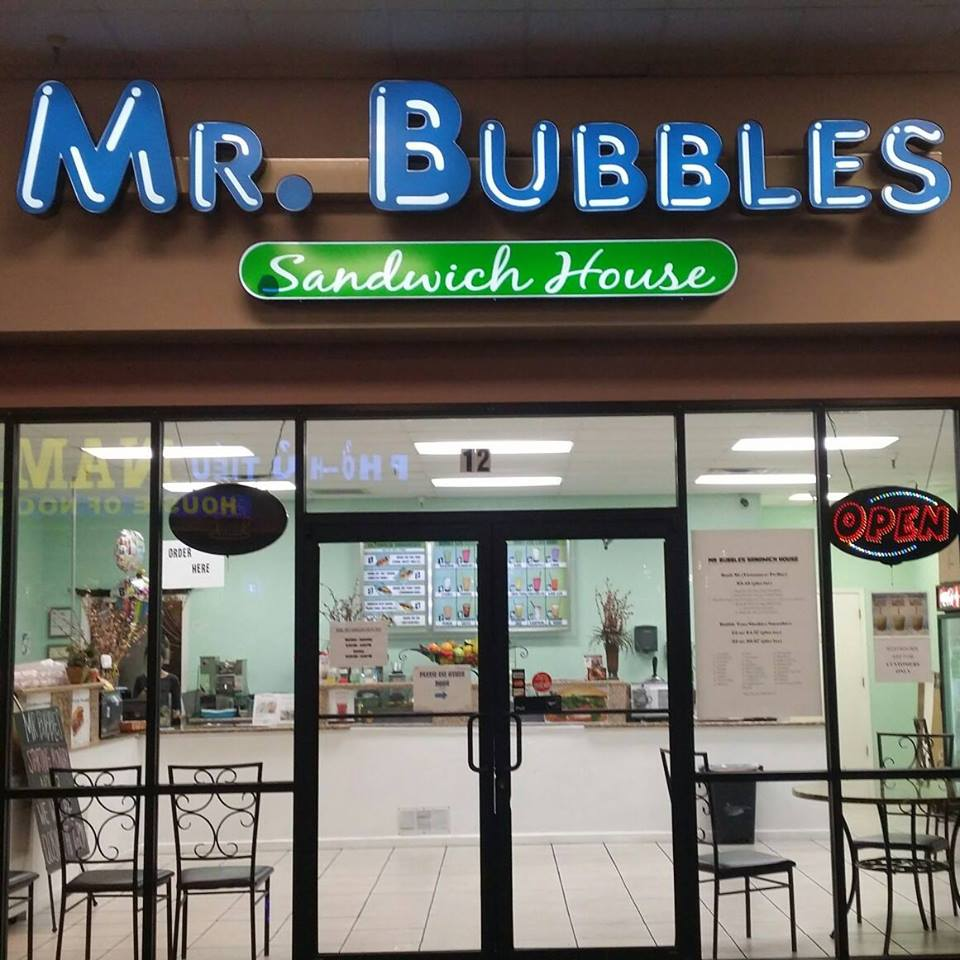 Mr Bubbles Sandwich House