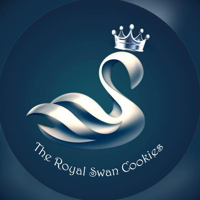 The Royal Swan Cookies